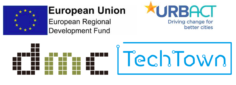 TechTown is an URBACT Action Planning Network, funded by ERDF, and led by Barnsley Metropolitan Borough Council at the Barnsley Digital Media Centre
